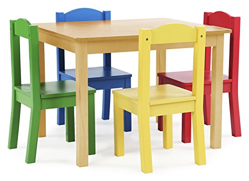 tot-tutors-kids-wood-table-and-4-chairs-set-natural-primary-primary-collection