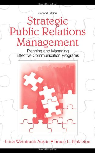 Strategic Public Relations Management: Planning and...