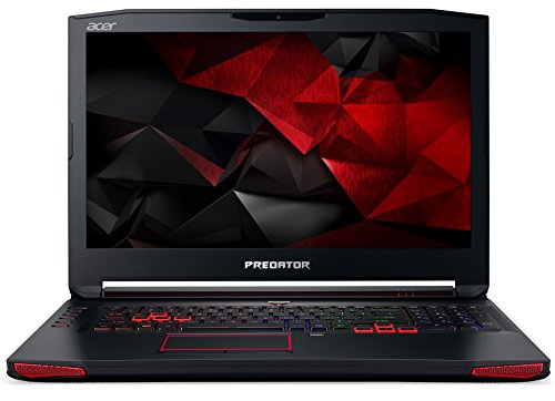 Acer Predator 17 (G9-792-707R) 43,9 cm (17,3 Zoll Full HD IPS) Notebook (Intel Core i7-6700HQ, 16GB RAM, 256GB SSD + 2TB HDD, NVIDIA GeForce GTX 970M, DVD, Win 10 Home) schwarz