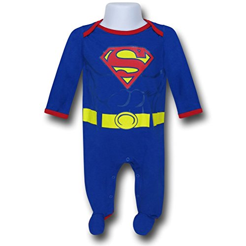 Superman Infant Costume Body Snapsuit