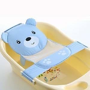 baby bath seat support net bathtub sling shower mesh bathing cra. Black Bedroom Furniture Sets. Home Design Ideas