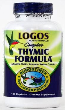 Logos Nutritionals Complete Thymic Formula - 180 Captabs