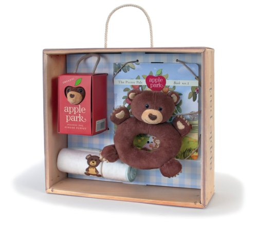 Apple Park Baby Gift Crate, Cubby - 1
