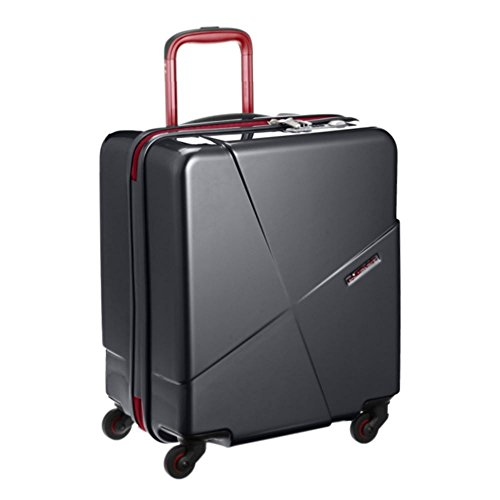 HIDEO WAKAMATSU(ヒデオワカマツ) マックスキャビン2 機内持込最大級スーツケース ブラック (85-76171)