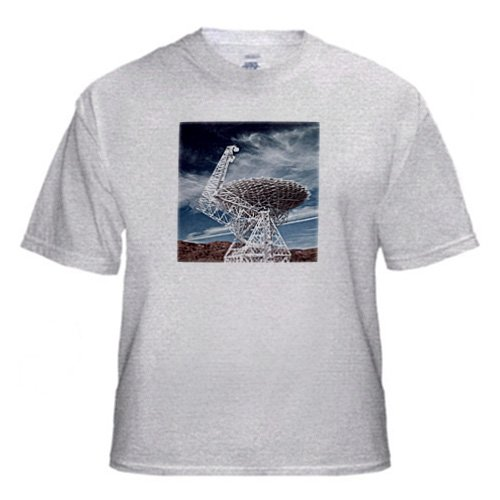 Danita Delimont - Technology - Wv, National Radio Astronomy Observatory Telescope - Us49 Wbi0070 - Walter Bibikow - T-Shirts - Adult Birch-Gray-T-Shirt Small