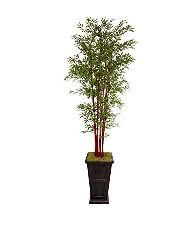 "Laura Ashley 111"" Harvest Bamboo Tree in 16"" Planter"