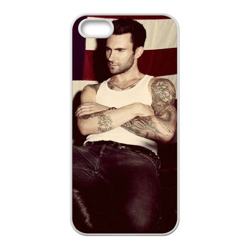 "Adam levine iPhone 4/4s, motivo ""602KAR072297, colore: bianco"