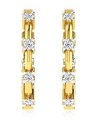 Friendly Diamonds Pendientes FDT12244Y Oro Amarillo
