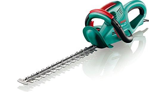 Bosch DIY Heckenschere AHS 480-24 T, Messerabdeckung (550 W, 480 mm Messerlänge, 24 mm Messerabstand)
