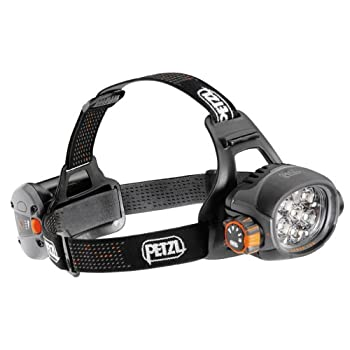 Petzl - Lampe frontale ultra puissante rechargeable ULTRA PETZL -