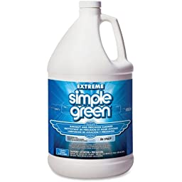 Simple Green Extreme Aircraft Precision Cleaner - 1 gal - Residue-free, Non-flammable, Non-corrosive, Non-abrasive - 4 / Bottle - Clear