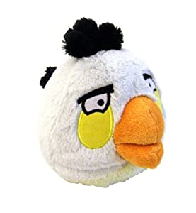 Angry Birds Plush 5-Inch White Bird with Sound from Commonwealth Toy