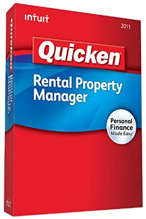 Quicken Rental Property Manager 2011 - [Old Version]