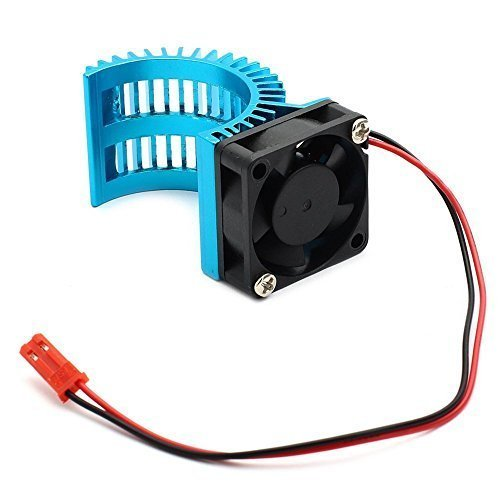 Brushless Motor Heatsink with Cooling Fan RS540 550 540 Size 5V-6V Electric Engine Heat Sink For RC Car Buggy Monster Truck (Rc Car Motor Fan compare prices)