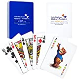 Gemaco 100% Plastic Playing Cards - UHCCF (Set of 2)