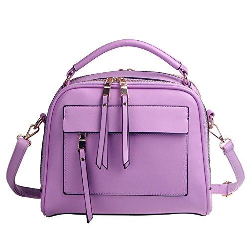 Koson-Man Borse a tracolla, Purple (viola) - KMUKHB105-08