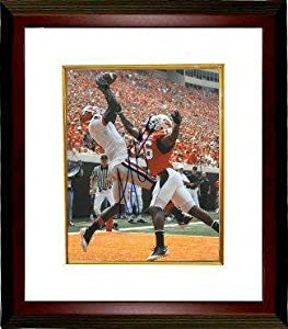 Signed Green Photograph - AJ Georgia Bulldogs 16x20 Custom Framed - Autographed... by Sports+Memorabilia