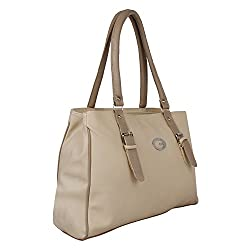 Glory Fashion Women's Stylish Handbag White BB-001-B00180