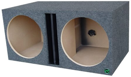 Audio Enhancers Kpvr15Dc Subwoofer Enclosure Box, Carpeted Finish
