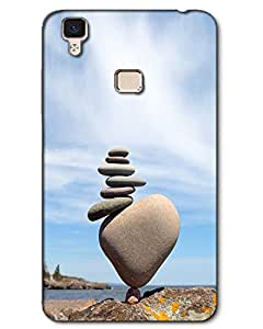 3D Vivo V3 Mobile Cover Case