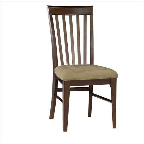 Furniture Montreal: Atlantic Furniture Montreal Cappuccino Fabric Side Chair