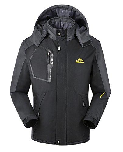 ilovesia-mens-waterproof-mountain-jacket-fleece-windproof-outdoor-coat-black-new-uk-size-m-fit-your-