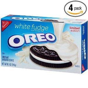 Oreo, White Fudge, 8.5-Ounce Box