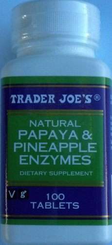 Trader Joe'S Papaya & Pineapple Enzymes