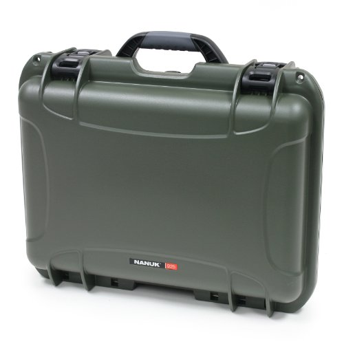 Nanuk 925 Case with Padded Divider (Olive)