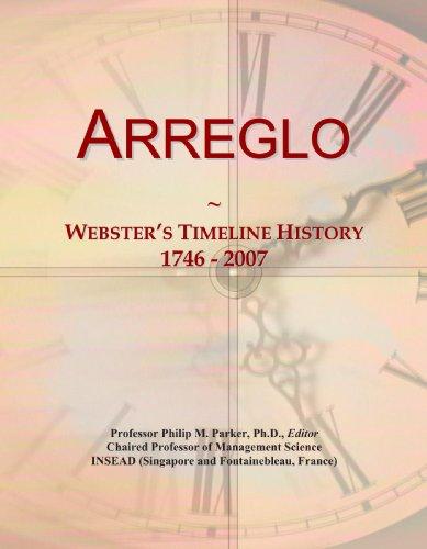 Arreglo: Webster's Timeline History, 1746 - 2007