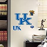 NCAA Kentucky Wildcats Teammate Logo Fathead,11-Inch by 8-Inch,Blue
