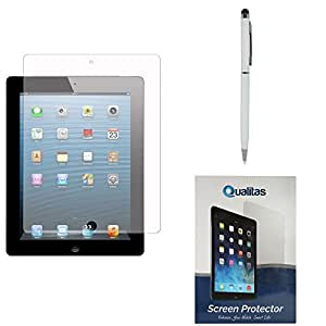 Qualitas Pack of 2 Matte Screen Protector for Samsung Galaxy Tab 2 P3100 + Pen Stylus