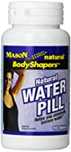 Mason Vitamins Natural Water Pill Tablets 90 Count Bottle