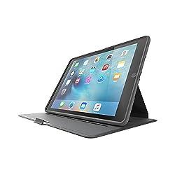 OtterBox PROFILE SERIES Slim iPad Air 2 Case - Retail Packaging - MIDNIGHT MERLOT (GUNMETAL GREY/MERLOT)