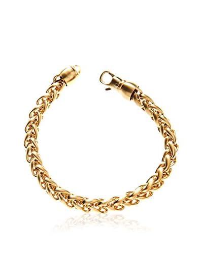 Blackjack Jewelry Braccialetto Wheat Link