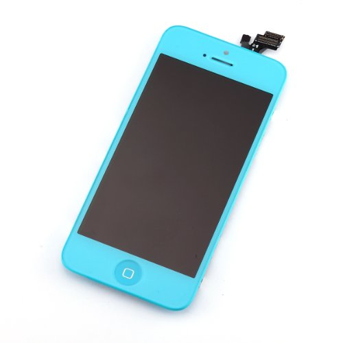Great Sale Ruichen Light Blue Original LCD Touch Screen Digitizer Assembly Replacement for Iphone 5