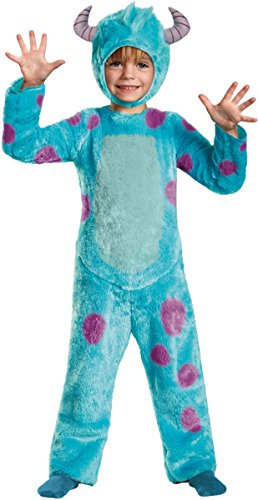 Morris Costumes Sully Toddler Deluxe, 3T-4T