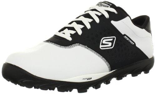 2014-skechers-go-golf-lightweight-spikeless-mens-waterproof-golf-shoes-white-black-7uk