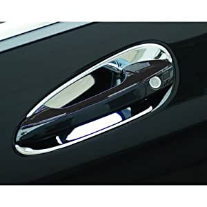 Mercedes benz c class 4 chrome door handle for Mercedes benz chrome accessories