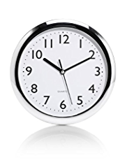 Chrome Essential Wall Clock