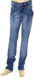 HAVOC Boys' 35082 Slim Fit Jeans (Blue, Size 38 - 13 to 14 Years)