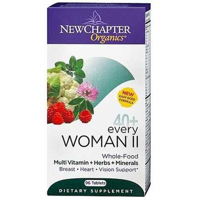 New Chapter Every Woman II 40+ Multivitamin Supplements