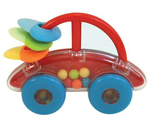 Stephan Baby Vroom-Vroom Activity Car with Teether, Rattle and Mirrors