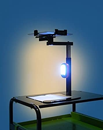 Copernicus DCS2A Improved Dewey the Document Camera Stand with LED light