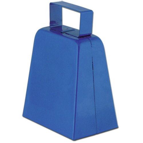 Cowbells (blue) Party Accessory  (1 count)
