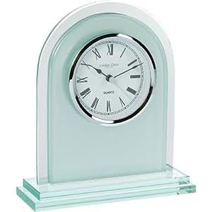 Arch Top Glass Mantel Clock by London Clock Company