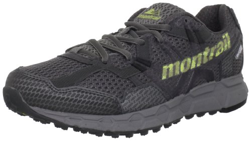 Montrail Women's Bajada Outdry Trail Running Shoe,Titanium/Neon Light,8.5 M US