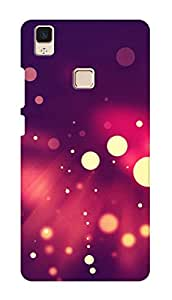 SWAG my CASE PRINTED BACK COVER FOR VIVO V3 MAX Multicolor