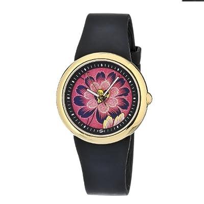Philip Stein Women's F36G-PLFR-B Quartz Stainless Steel Pink Dial Watch