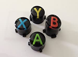 Original ABXY buttons for Xbox One controller (A B X Y) Custom mod by Microsoft Software